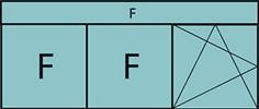 Composition 3parties avec 2fixes à gauche, 1vantail à droite avec ouverture à la française à gauche oscillo-battante – grille de ventilation BASIC AIR PLUS & imposte vitrée fixe sur toute la largeur