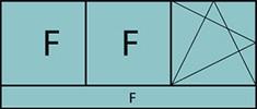 Composition 3parties avec 2fixes à gauche, 1vantail à droite avec ouverture à la française à gauche oscillo-battante – grille de ventilation BASIC AIR PLUS et allège vitrée fixe sur toute la largeur