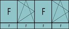 Compo de 4parties: 1fixe à gauche,1vtl ouverture à la française à gauche oscillo-B, 1fixe,1vtl ouverture à la française à gauche oscillo-B, grille de ventilation BASIC AIR PLUS &4allèges vitrées fixes